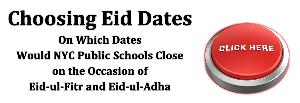 Which Dates for Eid in NYC Schools 2